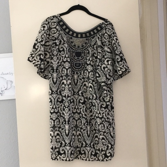 f651c98f9b0 Francesca's Collections Dresses | Flutter Sleeve Tunic Dress | Poshmark